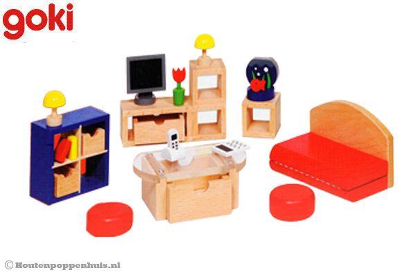goki houten woonkamer accessoires
