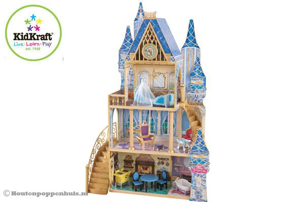 Poppenhuis Cinderella Midnight Mansion van Kidkraft.