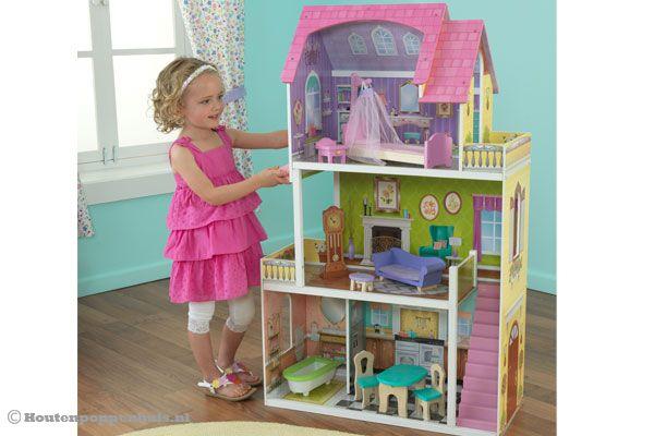 Kidkraft florence poppenhuis for Poppenhuis meisje
